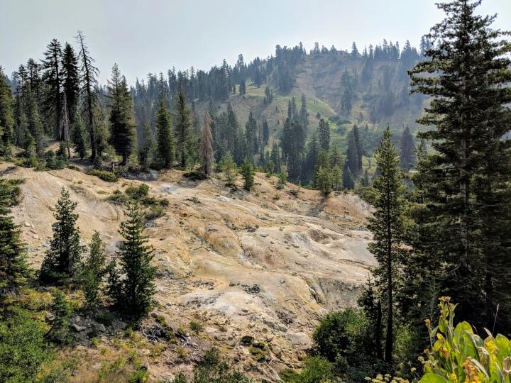 Nord California: Lassen Volcanic National Park a prova dibambini